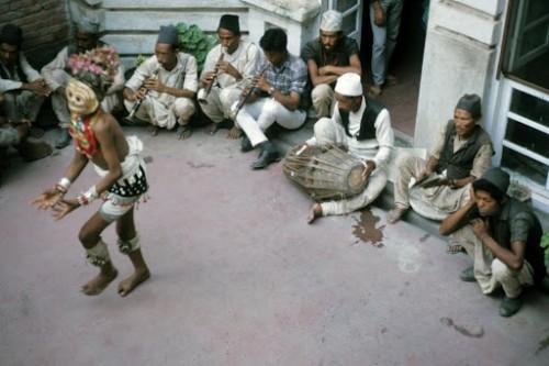 Kathmandu #198 Lakhe dance 9-68.jpg